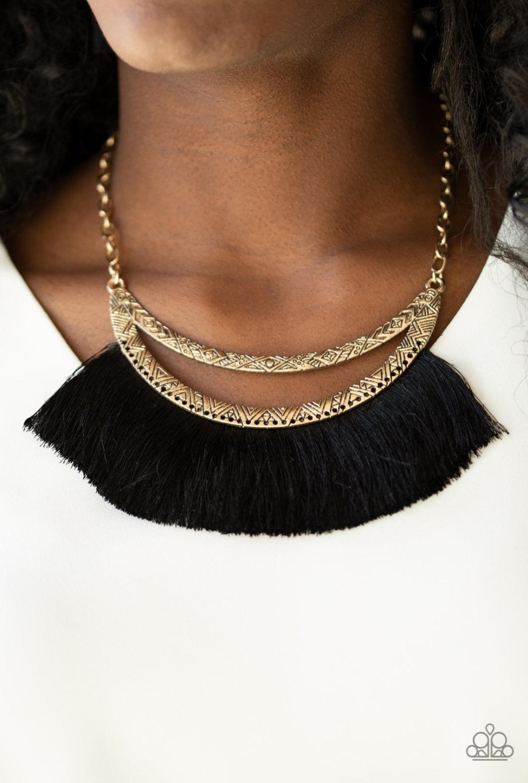 Paparazzi Necklace  - The Mane Event- Gold