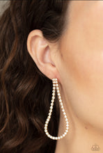 Load image into Gallery viewer, Paparazzi Earring - Diamond Drops Post - Gold