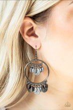 Load image into Gallery viewer, Paparazzi Earring - All - Chime High -Silver