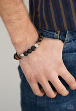 Load image into Gallery viewer, Paparazzi Bracelet - Mantra - Brown Urban