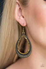Load image into Gallery viewer, Paparazzi Earrings - Right As REIGN - Copper