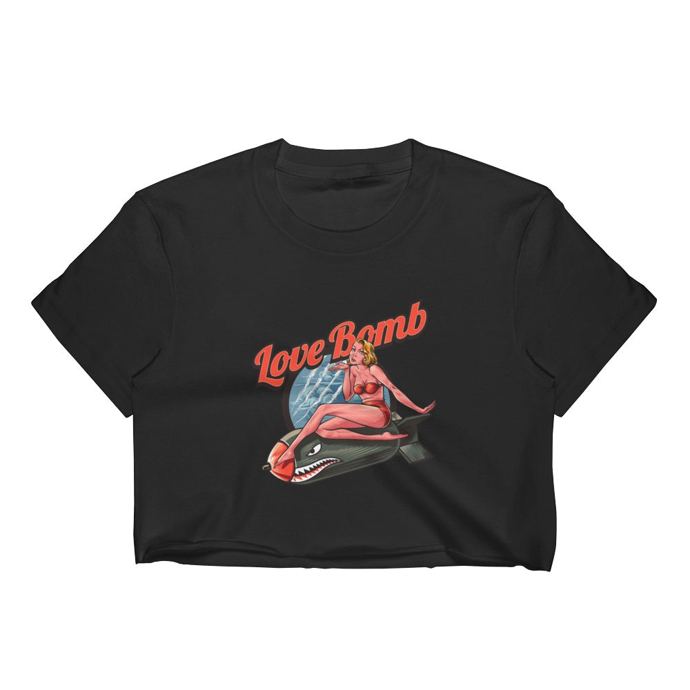 Love Bomb Women's Crop Top