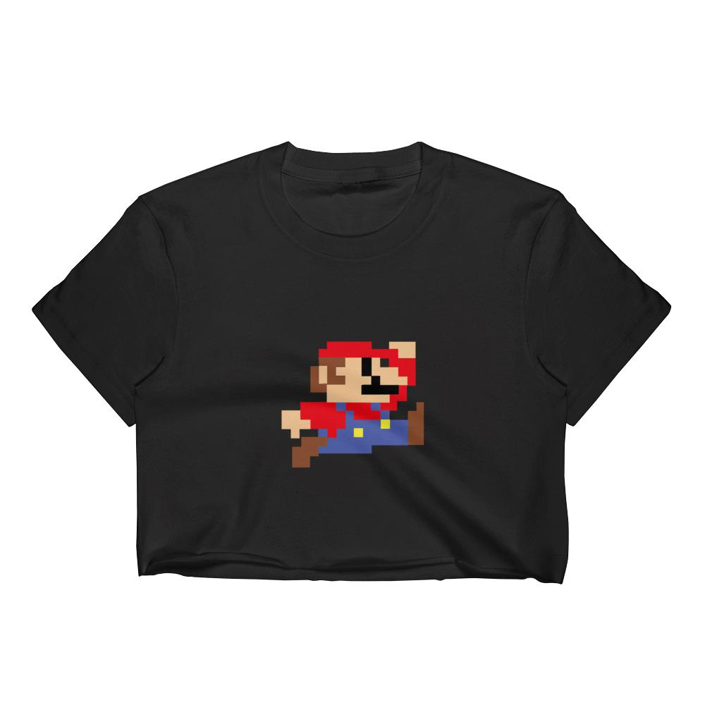 Super Mario Women's Crop Top