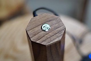 Power kit for Comandante Coffee Grinder - walnut wood