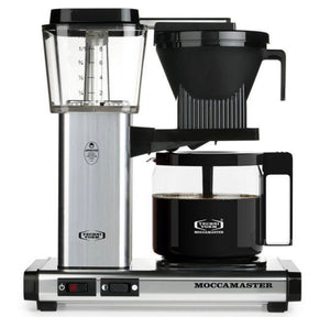 Moccamaster 10-Cup Silver Coffee Maker