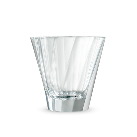Urban Glass 180ml Twisted Cappuccino Glass (Clear)