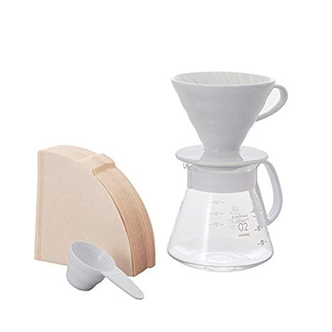V60 Size 02 Pour Over Set with Ceramic