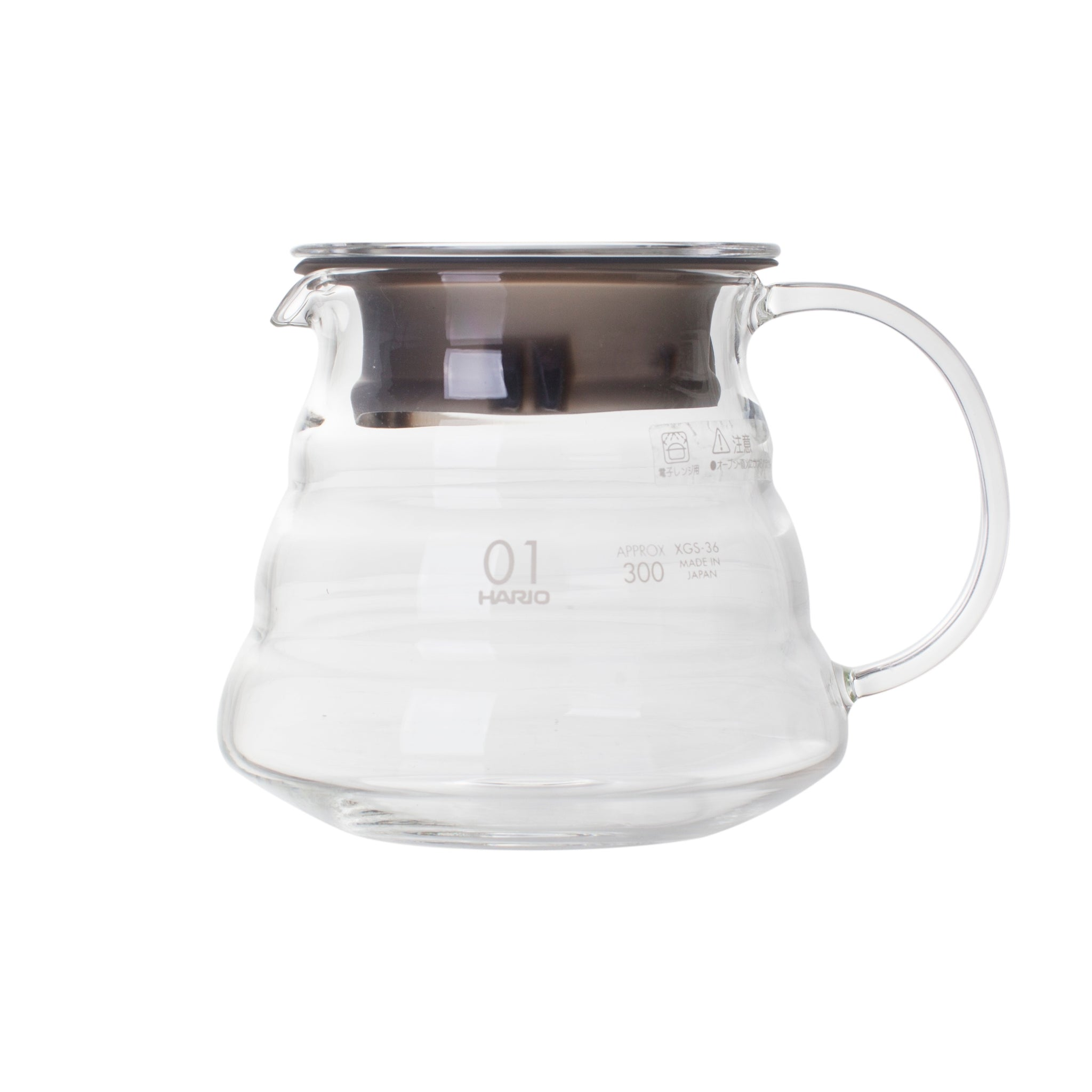 Hario V60 Glass Range Coffee Server (360ml, Clear)
