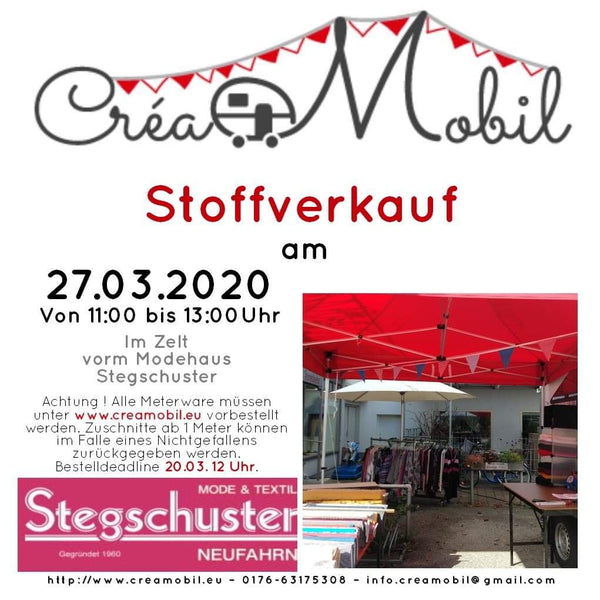Märzverkauf - Save the date