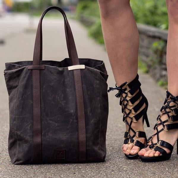 Mugon - TheFashionFraction Shopper Brown Spring
