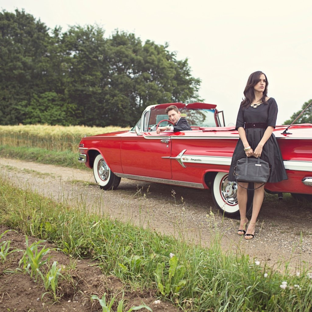 Mugon Ladybag - Lookbook Red Car