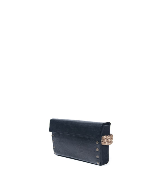 Stella Clutch Black-Braid