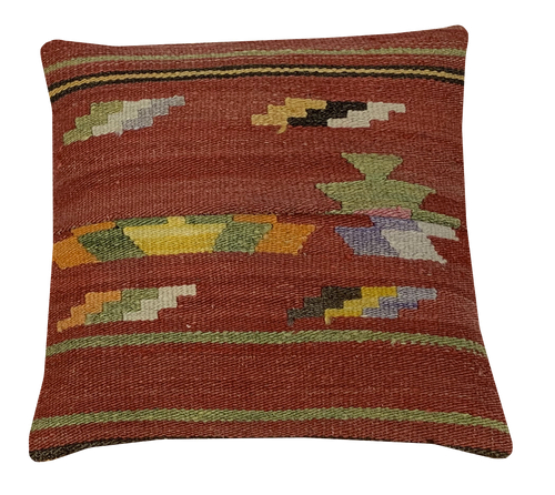 40x40cms Kilim Cushion Cover - kilimfurniture