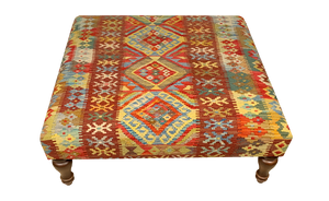 100x100cms kilim table stool