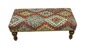 100cmsx45cms Kilim Bench Stool - kilimfurniture