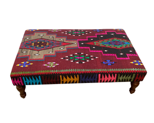 120cmsx75cms Kilim Table Stool