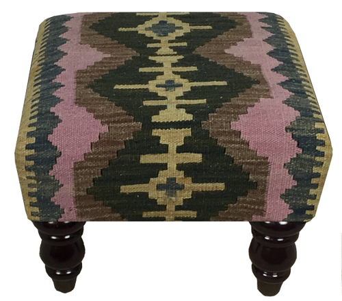 40cmsx40cms Kilim Stool - kilimfurniture