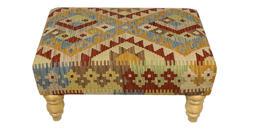 60cmsx40cms Kilim Stool - kilimfurniture