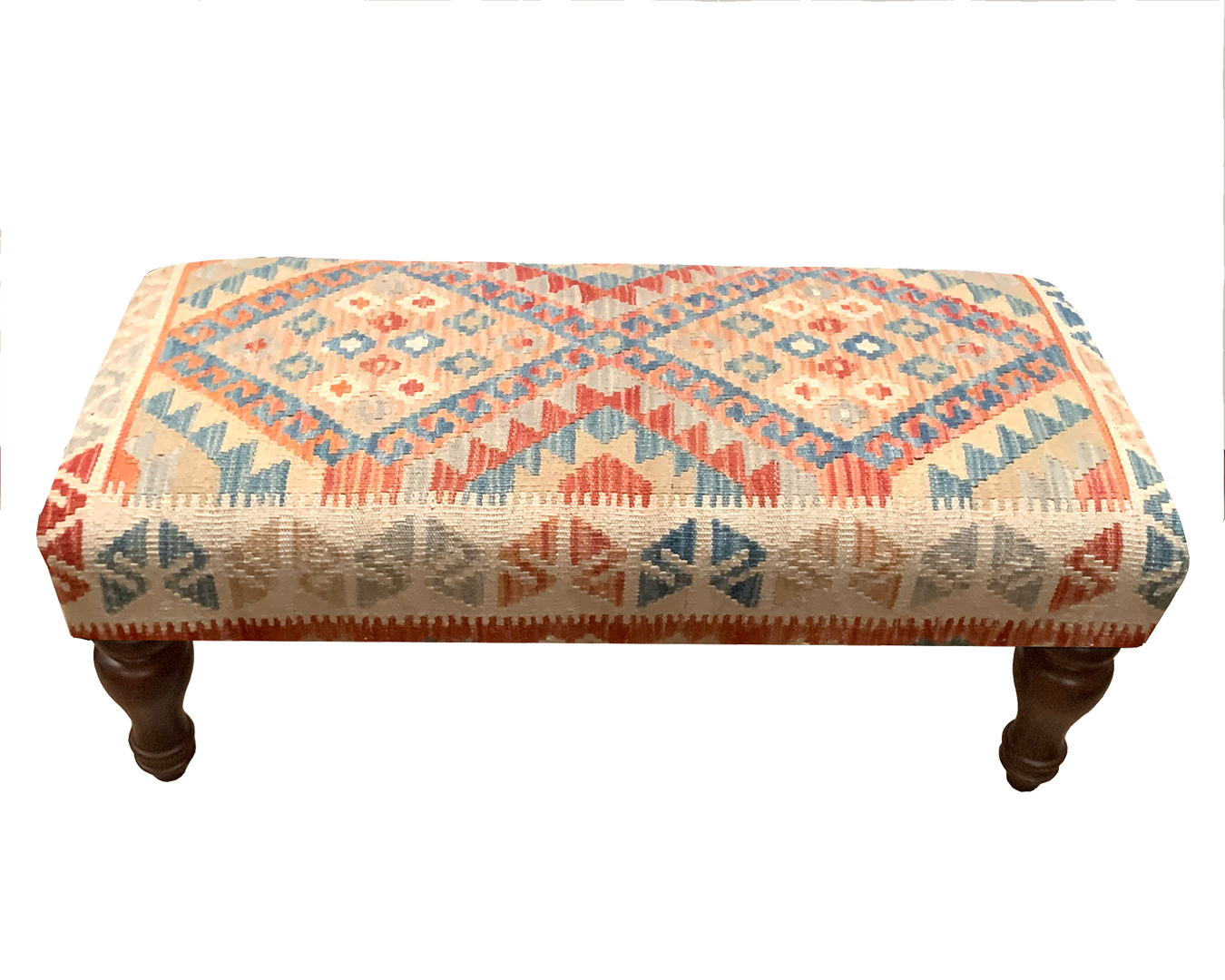 90x40cms Kilim Bench Stool SOLD