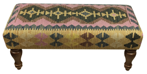 90x40cms Kilim Bench Stool - kilimfurniture
