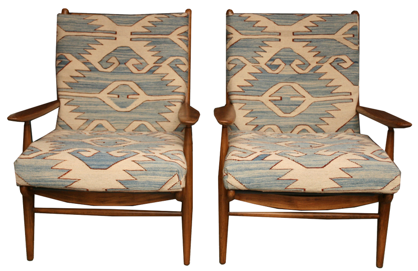 Pair of Vintage  Armchairs - kilimfurniture