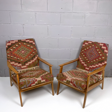 Load image into Gallery viewer, Pair of Vintage  Armchairs - kilimfurniture