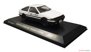"Kyosho 1:64 ""Initial D"" Set of 4 Cars Toyota Ae86, Mazda Rx-7 (FC)(FD), Nissan Skyline GTR"
