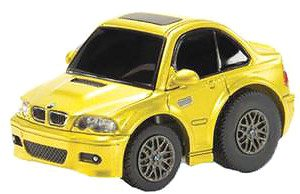 TinyQ BMW M3 (E46) Phoenix Yellow with Display Case