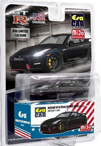 (Pre order) ERA Car 1:64 Mijo Exclusives USA 2020 Nissan GT-R R35 Nismo Black Limited Edition