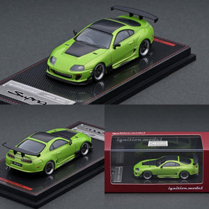 Ignition Model 1/64 Toyota Supra (JZA80) RZ Green