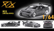 Load image into Gallery viewer, (Pre Order) Error 404 1/64 Nissan Skyline GT-R R33 Carbon