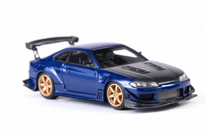 (Pre Order) Error 404 1/64 Nissan Silvia S15 Carbon Blue HK Exclusive