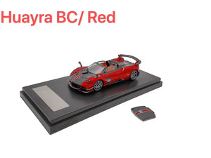 (Pre Order) 1:64 LCD Pagani Huayra BC Roadster Red Color