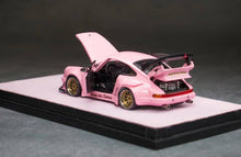 Load image into Gallery viewer, (Pre Order) Premium Pack PGM 1:64 Porsche 911 930 RWB Pink Diecast with Pink Pig Key Chain