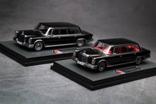 Load image into Gallery viewer, (Pre Order) 1/64 Mercedes-Benz 600 Pullman Black with Black interior