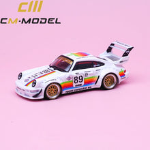 Load image into Gallery viewer, (Pre Order) CM Model 1:64 Porsche RWB Apple 930 with Opening Engine Bay