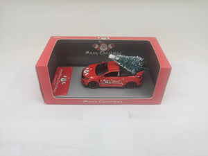 (Pre Order) 1:64 Honda Civic Type R FK8 , X'mas Red with tree. Ltd100pcs