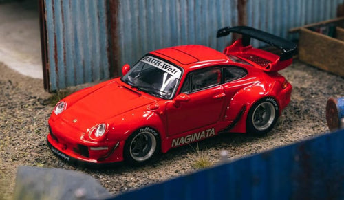 Tarmac Works 1:64 Porsche RWB 993 NAGINATA Riverside Show Exclusive