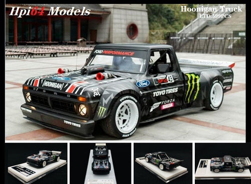 HPI 1/64 1965 Ford F-150 Ken Block's Hooligan Truck USA Ltd 599pcs