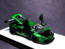 Load image into Gallery viewer, (Pre Order) PGM 1:64 Lamborghini Aventador LB WORKS Metallic Green Diecast