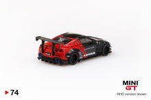 Load image into Gallery viewer, MiniGT 1/64 Japan Exclusive LB★WORKS Nissan GT-R (R35) ADVAN