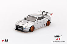 Load image into Gallery viewer, MiniGT 1/64 Taiwan Exclusive Nissan GT-R R35 Liberty Walk Magic Pearl