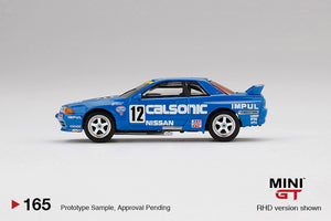 (Pre Order) Mini GT 1:64 Nissan Skyline GT-R R32 Gr. A #12 Calsonic 1990 Japan Touringcar Championship Limited Edition