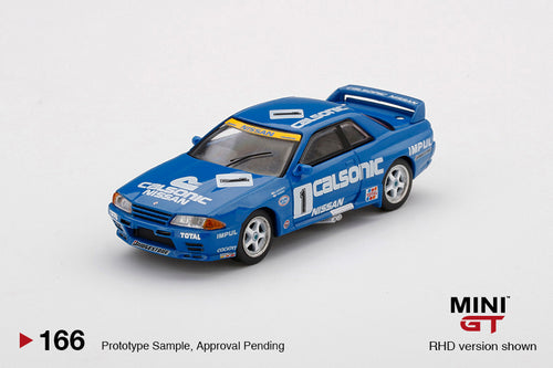 (Pre Order) Mini GT 1:64 Nissan Skyline GT-R R32 Gr. A #1 Calsonic 1991 Japan Touringcar Championship