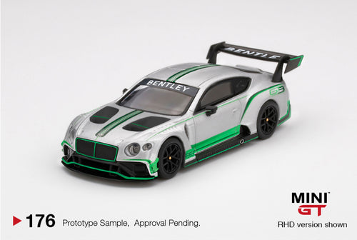 MiniGT 1/64 Bentley Continental GT3 2018 Presentation Car Mijo Exclusive