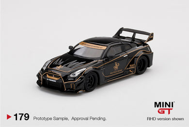 (Pre Order) MiniGT 1/64 LB★WORKS Nissan GT-R R35 LB-Silhouette Ver.1 JPS ( John Players Special ) Limited edition