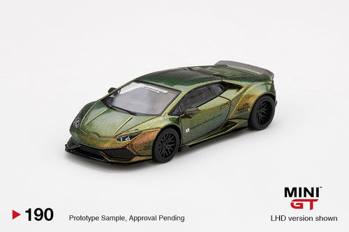 (Pre Order) MiniGT 1:64 LB★WORKS Lamborghini Huracán ver. 2 Magic Bronze