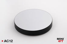 "Load image into Gallery viewer, (Pre Order) Mini GT 1:64 5"" Display Turntable Black w/ Mirror Surface"