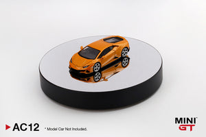 "(Pre Order) Mini GT 1:64 5"" Display Turntable Black w/ Mirror Surface"