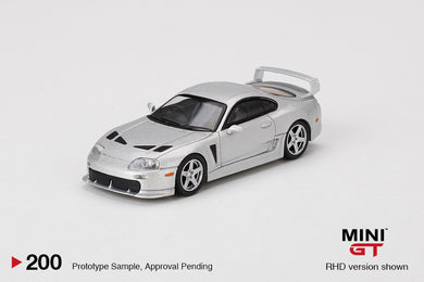 (Pre Order) Mini GT 1:64 Toyota TRD 3000GT Alpine Silver Metallic Limited Edition